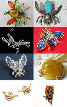 I Went To A Garden Party...What a Bunch of Pests  a GVS Team Treasury --Pinned with TreasuryPin.com
