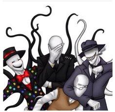 Slender Family!! Creepypasta (Splendor, Slender, S/O, And Trender)