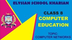 COMPUTER NETWORKS Class 8th, Punjab Textbook Board, Lahore, Pakistan (Ur... Pakistan Urdu, Lahore Pakistan, Class 8, Computer Network, Muhammad, Textbook, Youtube, Youtubers, Class Books