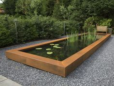 Design, construction, supply and installation of bespoke water features for indoor or outdoor use for commercial or private clients Complete landscaping packages