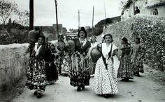 Postales antiguas de Granada: Gitanas del Sacro Monte. España