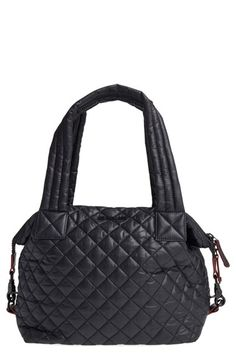 Free shipping and returns on MZ Wallace 'Medium Sutton' Quilted Oxford Nylon Shoulder Tote at Nordstrom.com. Lightweight quilted nylon comprises a slouchy shoulder tote with double handles and an optional crossbody strap. An interior, removable travel pouch can be kept on or zipped off for added on-the-go convenience.