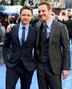 Happy Birthday to the wonderful, beautiful, super talented James McAvoy! This Scottish man turns 37 today. All life's best to him! He's one of my fav actors and one of the best actors of our generation. I will watch any movie he's in. And he's so lovely and humble. Family man. Always love his sense of humor. He's truly one of a kind. #MichaelFassbender #JamesMcAvoy #Fassy #Fassbender
