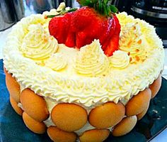 #Christmas 2014 #Dinner Banana  Pudding #Cake/Pie from Surreal Creations Bakery  #Dessert #Fruit #Cookies #Snack/Teatime    So Delicious