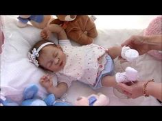 Silicone Platinum Reborn Baby Doll Daisy 3/10