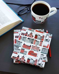 Mitt Stockholm house pattern from Emelie Ek Design