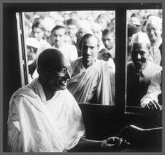 Mohandas Gandhi was born in Porbandar, Gujarat India in October 1869 but his family moved to the town of Rajkot when he was only seven years old. Gandhi attended an all boy school when he was about seven years old in Rajkot. Mahatma Gandhi Biography, Childhood Photos, Alan Watts, Church History, Seven Years Old, Nelson Mandela, Rare Photos, Essay Writing, Life Lessons