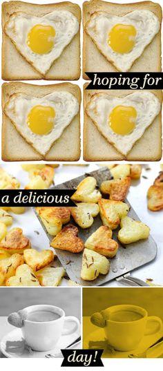 a valentine's breakfast...