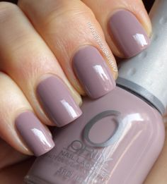 orly - you're blushing. tessa's new favorite color