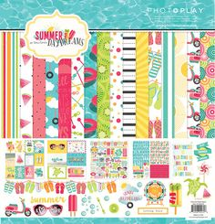 All Scrapbook Steals - The Blog: Photoplay Summer Daydreams