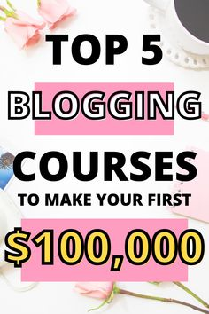 Learn how to make money blogging with these blogging courses designed for new bloggers ready to grow and monetize their blog. #blogging #bloggers #makemoneyblogging #bloggingtips #bloggrowth Work From Home Jobs, Make Money From Home, How To Make Money, Make Money Blogging, Make Money Online, Seo Tips, Blogging For Beginners, Extra Money, Email Marketing