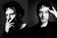 Michael Fassbender and James McAvoy, My favorite dynamic duo!