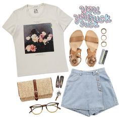 """I know"" by oppilifera ❤ liked on Polyvore"