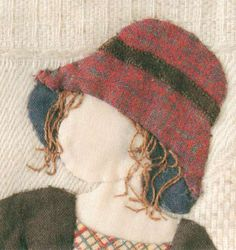 Story Quilt (girl with hat) Emily you should check out this one. Japanese artist