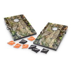 Realtree® Camo Beanbag and Washer Toss Games. Great fun for the outdoor wedding reception.