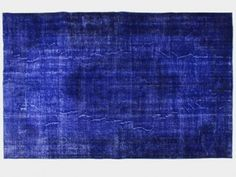 Tapis Vintage d'Anatolie - Deep Blue Objet D'art, Contemporary Rugs, Unique Rugs, Vintage Colors, Decoration, Deep Blue, Handmade Rugs, Beautiful Homes, Home Decor