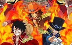 One Piece Luffy, One Piece Anime, Ace Sabo Luffy, One Piece Images, Dragon Art, Various Artists, Cartoons, Illustrations, Rock