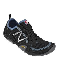Black & Blue Minimus 10 Trail Running Shoe by New Balance on #zulily
