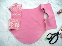Talking Tails - Easy Dog Fleece Jackets - How to Make a Dog Fleece Jacket