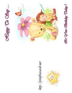 free printable happy birthday cards, free birthday greeting cards