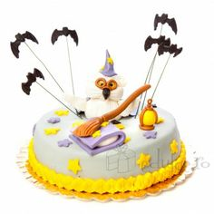 Bufnita prietenoasa ce stie magie Anna, Cake, Desserts, Food, Tailgate Desserts, Deserts, Kuchen, Essen, Postres