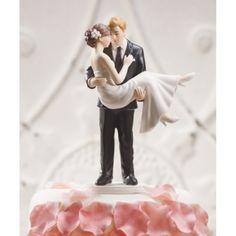 Tortenfigur für die Hochzeitstorte - Er trägt sie auf Händen, 41,99