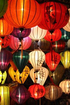 Beautiful lanterns from Hoi An, Vietnam