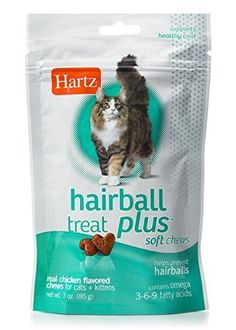 Hartz Hairball Remedy Plus Soft Chews for Cats & Kittens - Savory Chicken Flavor Cat Care Tips, Owning A Cat, Chicken Flavors, Cat Treats, Cat Supplies, Litter Box, Cat Food, Cats And Kittens, Remedies