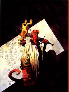 Hellboy, by Mike Mignola