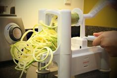 This is fantastic spiral slicer!! Super heavy duty and built to last. Use it to spiral slice zucchini, cucumbers, and even carrots. My whole family loves it. hurry, this price might not last long- it's on sale for only $29.97 with free shipping (regularly $64.99)
