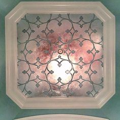 Awesome ceiling by Nathan Wainscott