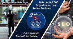 En GRUPO HANA, hemos superado los 142.000 Seguidores en las Redes Sociales...