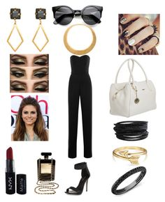 """Black and Gold"" by lilli-rose2003 ❤ liked on Polyvore"