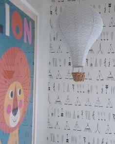 ferm LIVING Native Wallpaper: http://www.fermliving.com/webshop/shop/kids-room/native-wallpaper.aspx