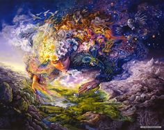 free artwork | Free Art wallpaper - Josephine Wall Fantasy Art Illustration wallpaper ...