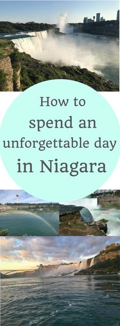One day in Niagara is all you need to see some pretty awesome sights!
