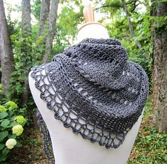 Sarah's Grove Shawl #crochetpattern by Julie Blagojevich | Ravelry