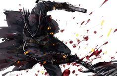 Blood addled Hunter