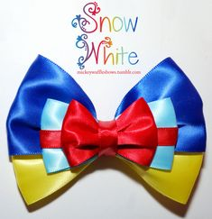 Donald Duck Hair Bow by MickeyWaffles on Etsy