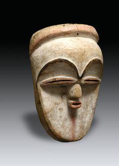 Vuvi Moghondzi Mask, Gabon