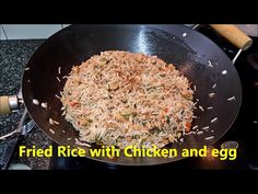 Chicken Egg Fried Rice New/Simple Rice Recipe/Easy cooking - YouTube