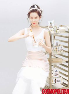 170520 COSMOPOLITAN 2017 June Issue SNSD Seohyun