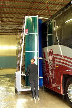 From Group Tour - Immaculately cleaned motorcoaches