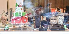 Escaparate navideños hecho por delicias y mimos