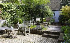 small courtyard ideas - Google Search