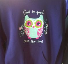 "Whoooooo's got the best hoodies at the lowest prices? Your wise old Chapel Store, that's who. Come and see ""owl"" our other designs!"