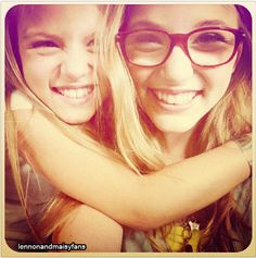 "Lennon & Maisy // I Can't Tell You How Many Times I Have Watched Their ""Sunglasses At Night"" Video On YouTube ... Awesome! ( http://youtu.be/SVl9ZHbZPu0 )"