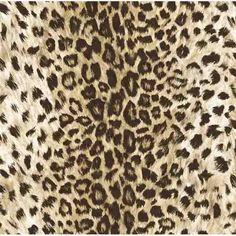 FG36042 Brown Leopard Print Wallpaper - Field Guide by Belair Studios                                                                                                                                                                                 More