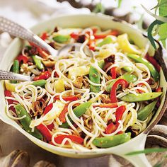 Vegetable Lo Mein 1 cup dried shiitake or Chinese black mushrooms cup boiling ounces dried udon egg whites 1 egg 2 teaspoons cooking oil, divided Chinese Vegetables, Mixed Vegetables, Veggies, Vegetable Lo Mein, Vegetable Dishes, Chinese Cabbage, Chinese Food, Chinese Coleslaw, Vegetarian Recipes