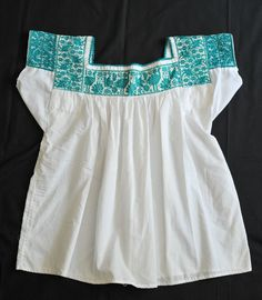b92cbd183e6a69 Embroidered Blouse Nahua Mexico (Teyacapan) Tags  clothing mexican textiles  puebla embroidered ropa cuetzalan